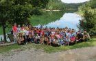 Učenci Mreže šol parka Škocjanske jame začeli novo šolsko leto na akumulacijskem jezeru Mola